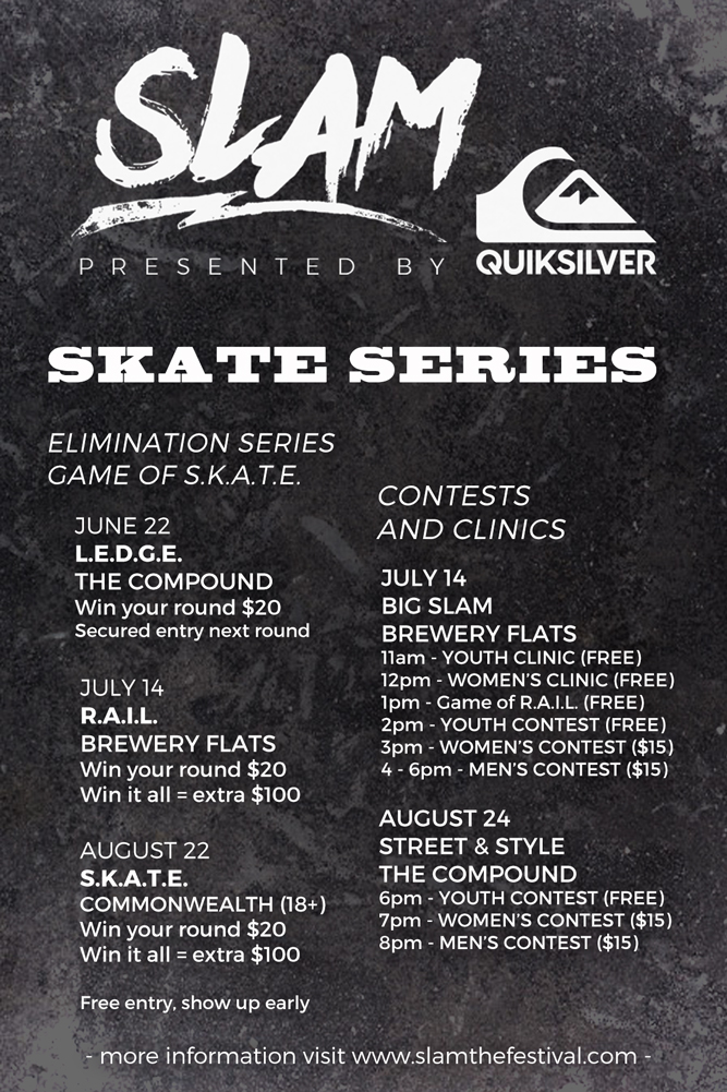 6e957f0f5d3b Slam Skate Events   Slam Festival