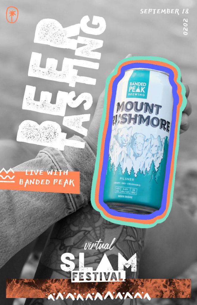 Virtual Beer Tasting with Banded Peak