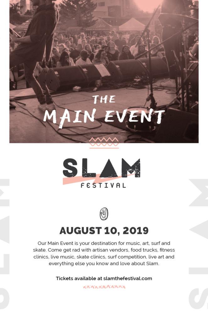 Slam Event Poster
