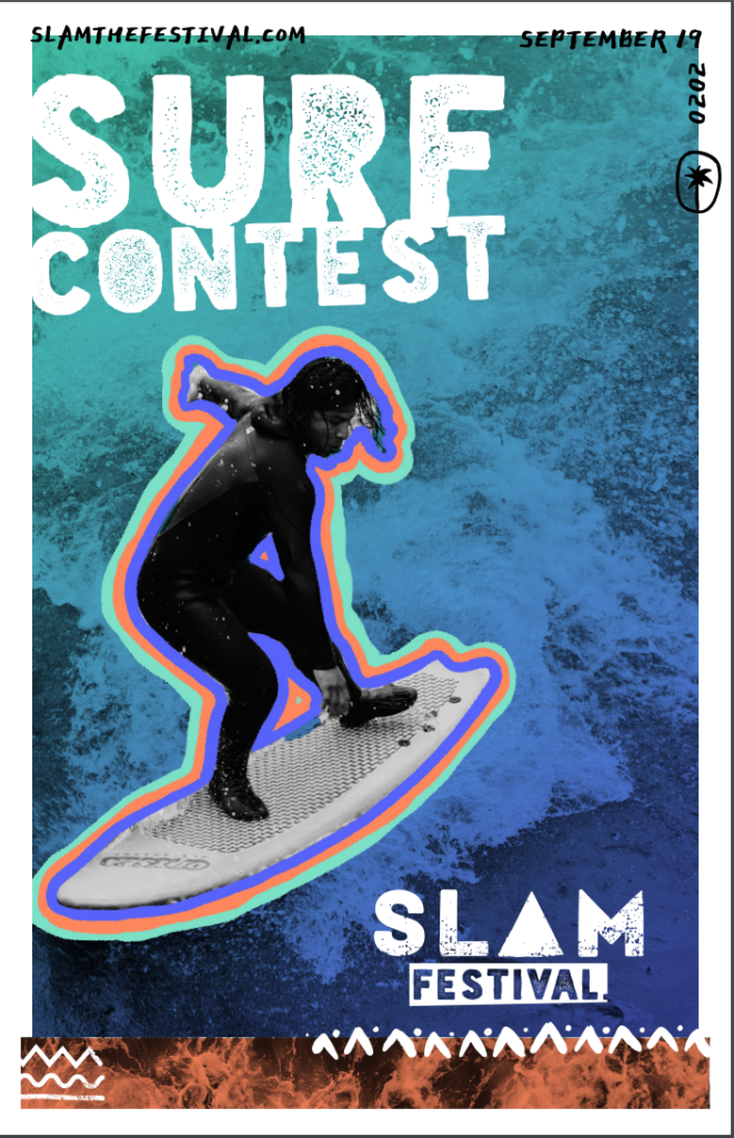 Slam Event Poster